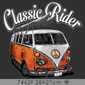 Camiseta Classic rider -...