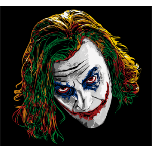 Camiseta Joker color -...