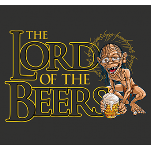 Camiseta Lord of the Beer -...