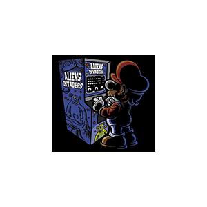 Camiseta Mario arcade -...
