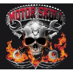 Camiseta Motor skull