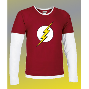 Camiseta Sheldon Flash - DC...