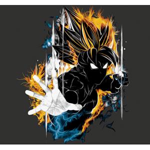 Camiseta Super Saiyan -...