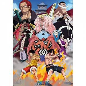 Poster One Piece Marine Ford