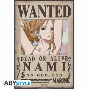 Poster Wanted Nami - One Piece