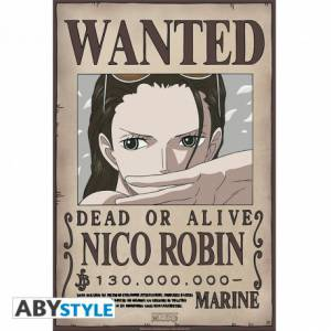 Póster Wanted Nico Robin -...