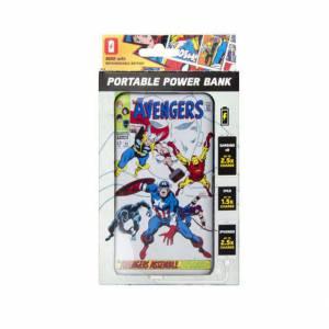 Bateria externa Avengers -...
