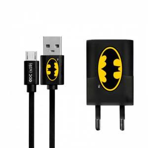 Cargador USB micro Batman -...
