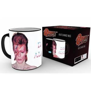Taza térmica David Bowie