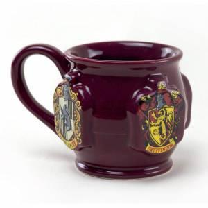 Taza escudos Hogwarts 3D