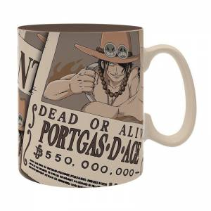 Taza Wanted Ace - One Piece