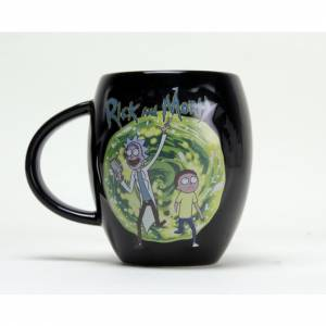 Taza Rick y Morty portal...