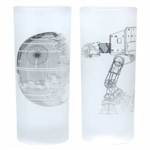 Vasos Death star y AT...