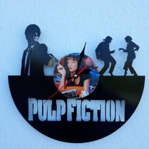 Reloj de pared Pulp Fiction