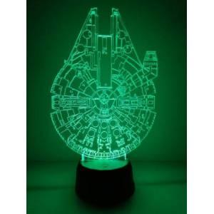 Lámpara 3D Halcón Milenario...