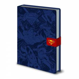 Cuaderno Superman premium...