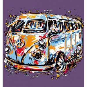 Camiseta furgoneta T1 Artist