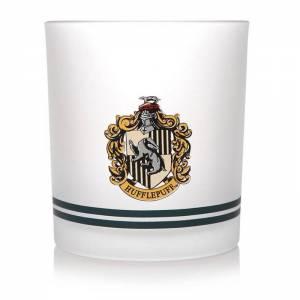 Vaso de cristal Hufflepuff