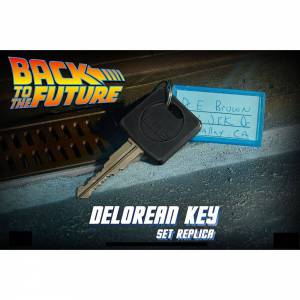 Llave Delorean - Doc Brown Regreso al futuro