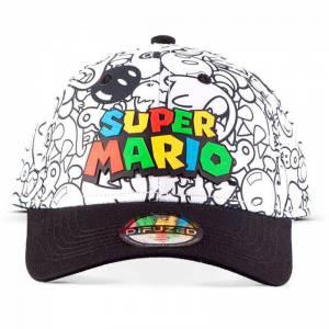 Gorra villanos Super Mario Bros