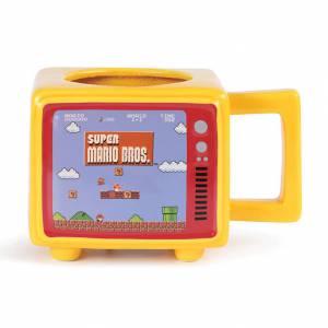 Taza TV retro Mario Bros térmica