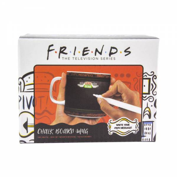 Taza de Friends con pizarra