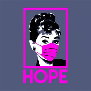 Camiseta Audrey Herpburn - Hope