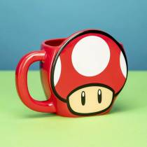 Taza Mushroom 3D - Mario Bros