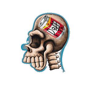 Camiseta Brain beer - Los...