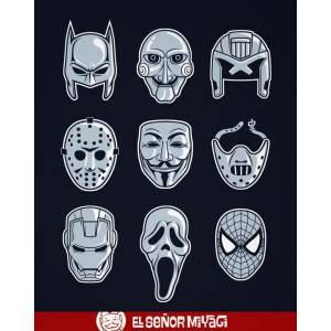 Camiseta Máscaras