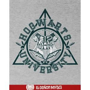 Camiseta Hogwarts universty...