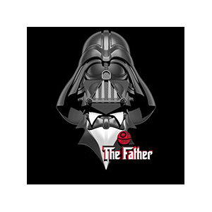Camiseta Darth Father -...