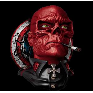 Camiseta Red Skull -...