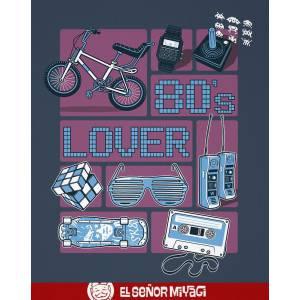 Camiseta 80's lover