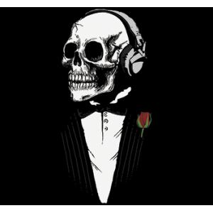 Camiseta Skull chaqué