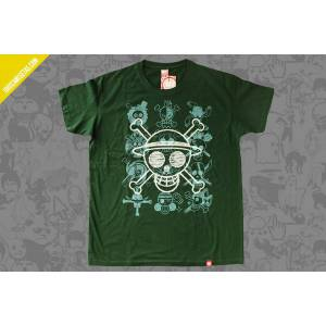 Camiseta One Piece skulls