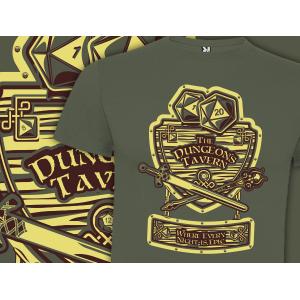 Camiseta Dungeons tavern