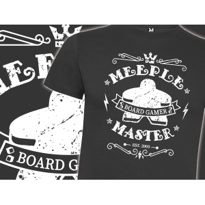 Camiseta Meeple master