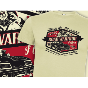 Camiseta Road Warrior - Mad...