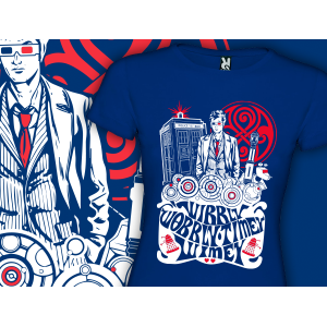Camiseta Time wimey - Dr Who
