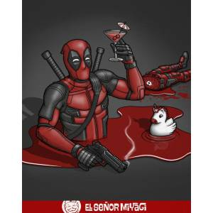 Camiseta Happypool - Deadpool