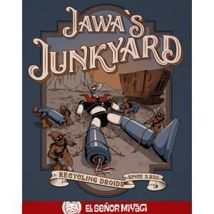 Camiseta Jawa junkyard -...
